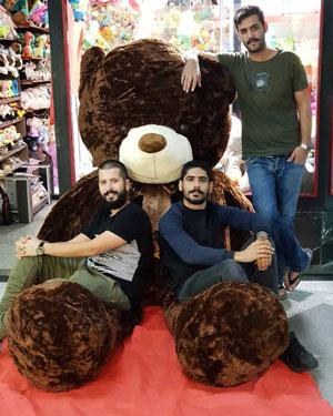 فروش عروسک خرس بزرگ