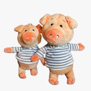 عروسک خوک سویشرت دار