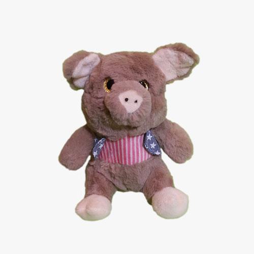 عروسک خوک چشم تیله ای