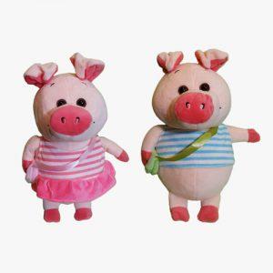 عروسک خوک دختر و پسر