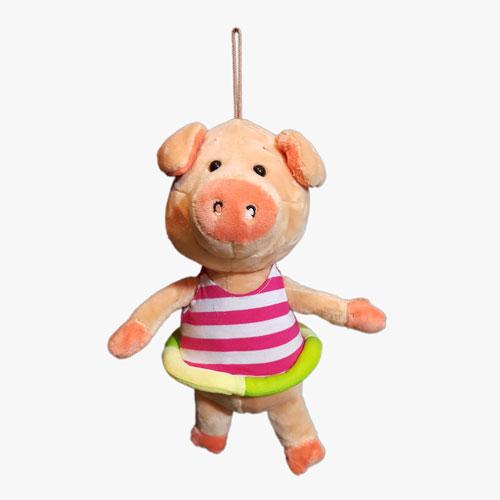 عروسک خوک هولاهوپ دار