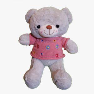 عروسک خرس پلیور ستاره